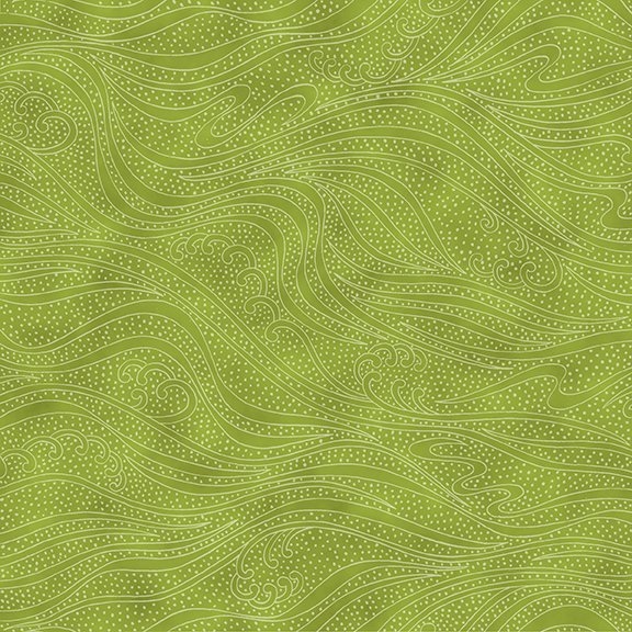 In the Beginning Color Movement - Green