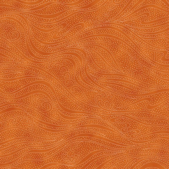 In the Beginning Color Movement - Orange