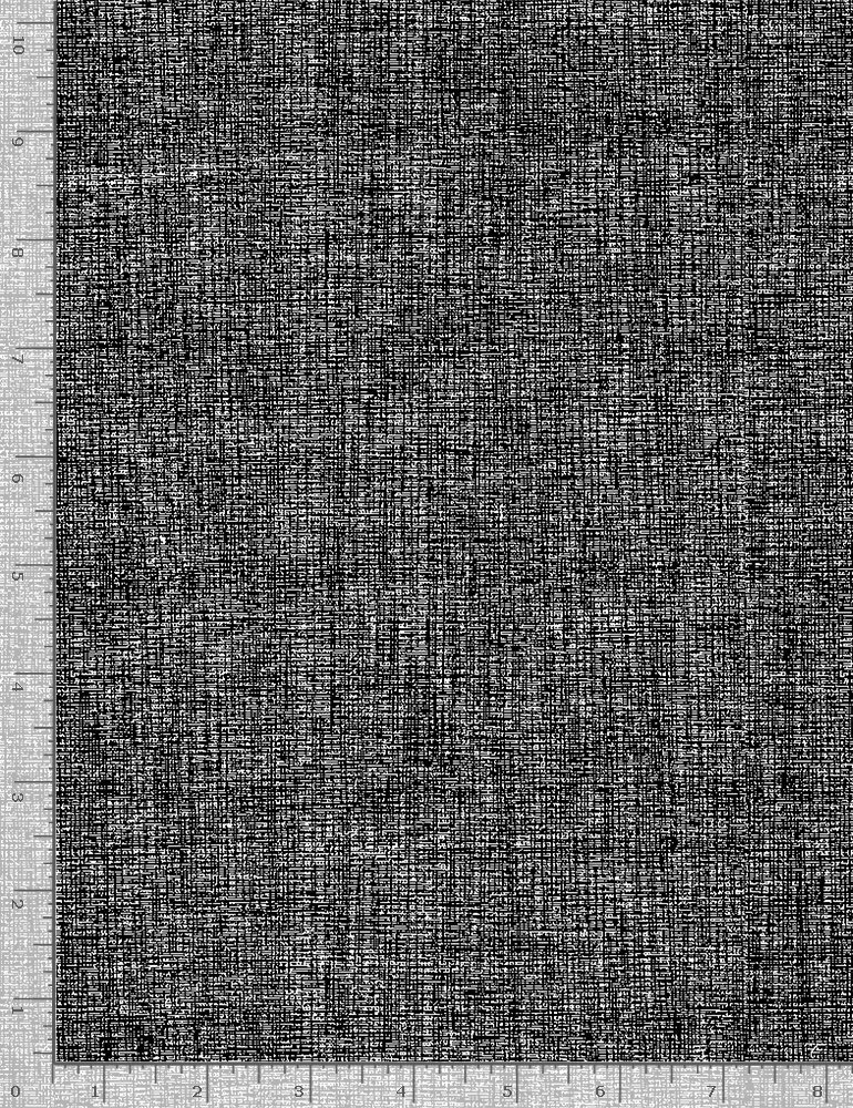 Timeless Treasures, Inked - Linene Text Black