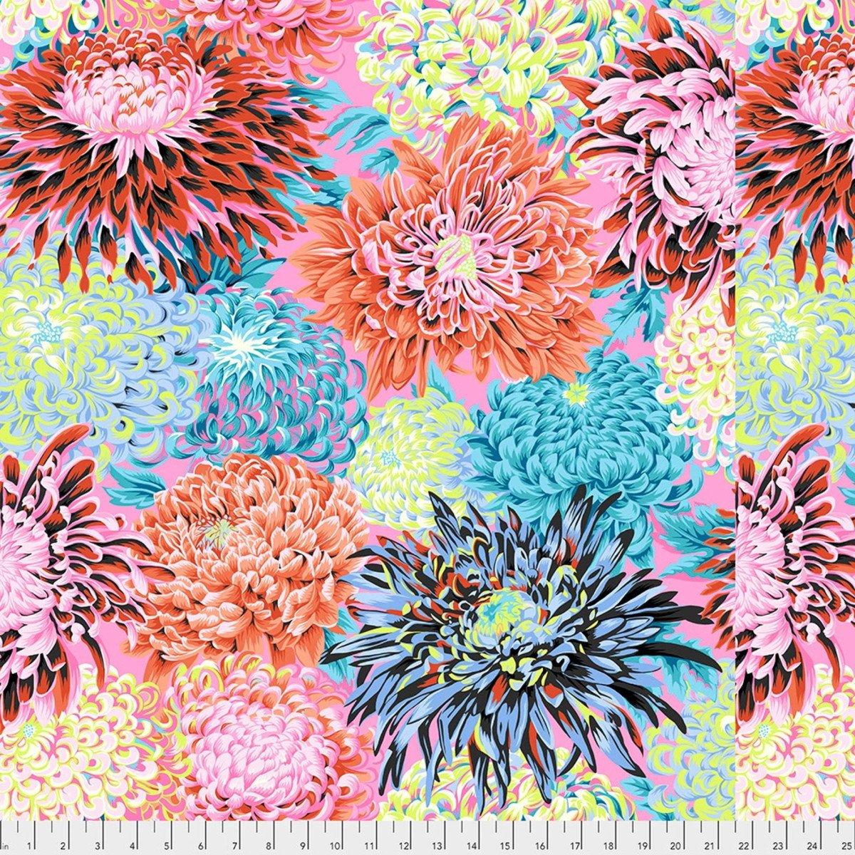 Kaffe Fassett, Japanese Chrysanthemum, Contrast