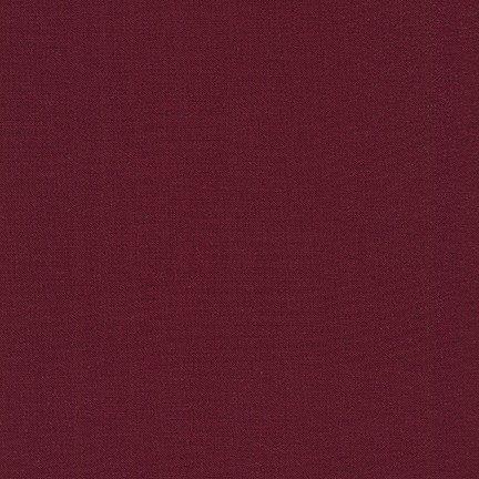 Kona Cotton Solid, Burgundy
