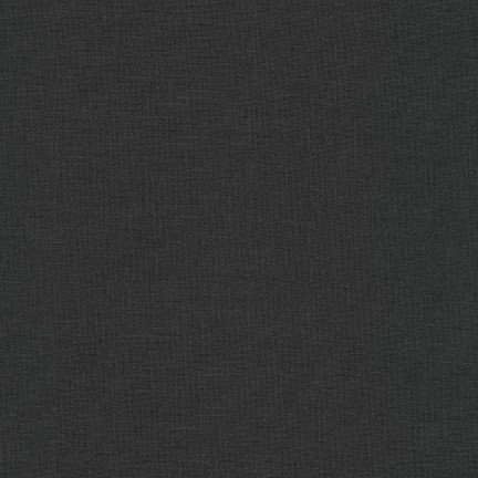 Kona Cotton Solid, Charcoal