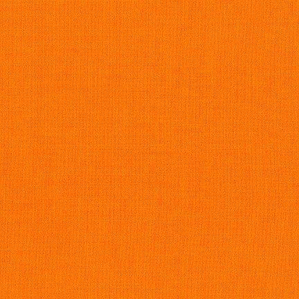 Kona Cotton Solid Clementine