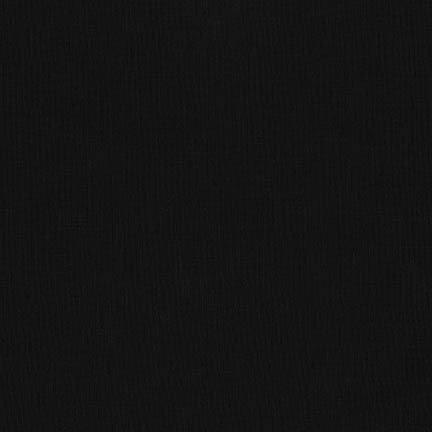 Kona Cotton Solid BLACK, wide, 58