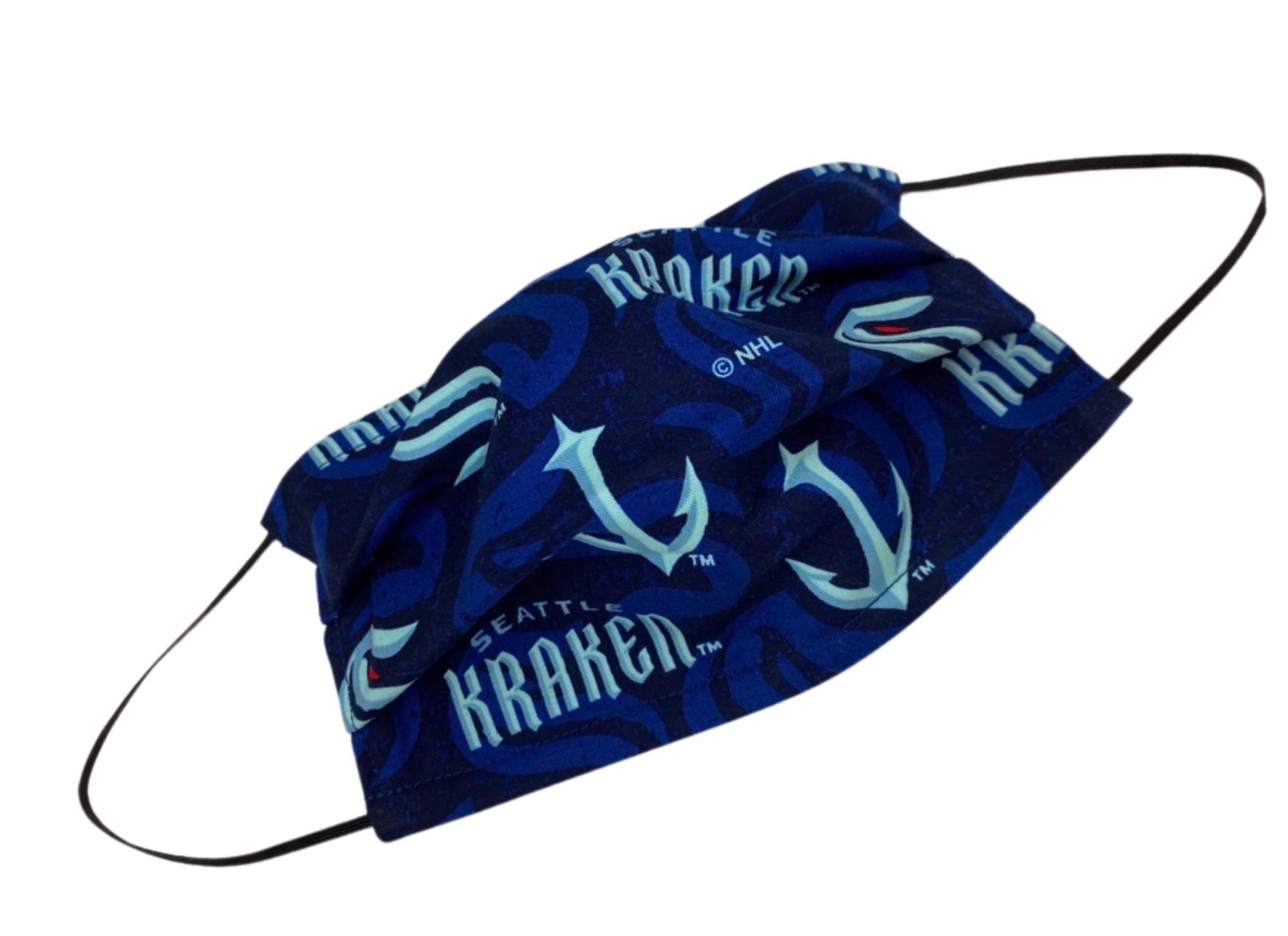 Sports Fan Mask Kit, SEATTLE KRAKEN