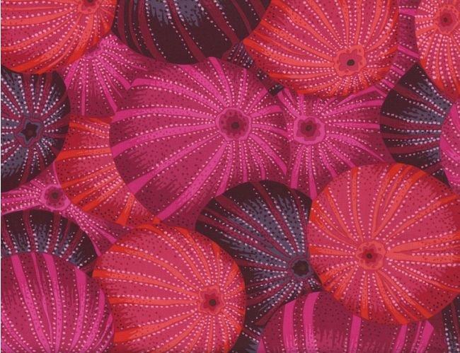 Kaffe Fassett, Sea Urchin, Red