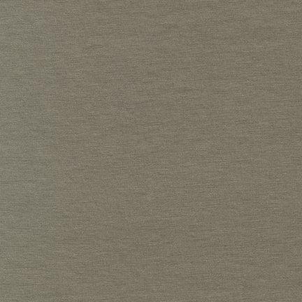 Laguna Jersey by Robert Kaufman -  Taupe