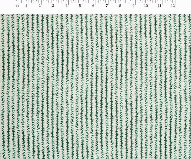 Cotton + Steel, Strawberry Fields - Laurel Stripe Cream
