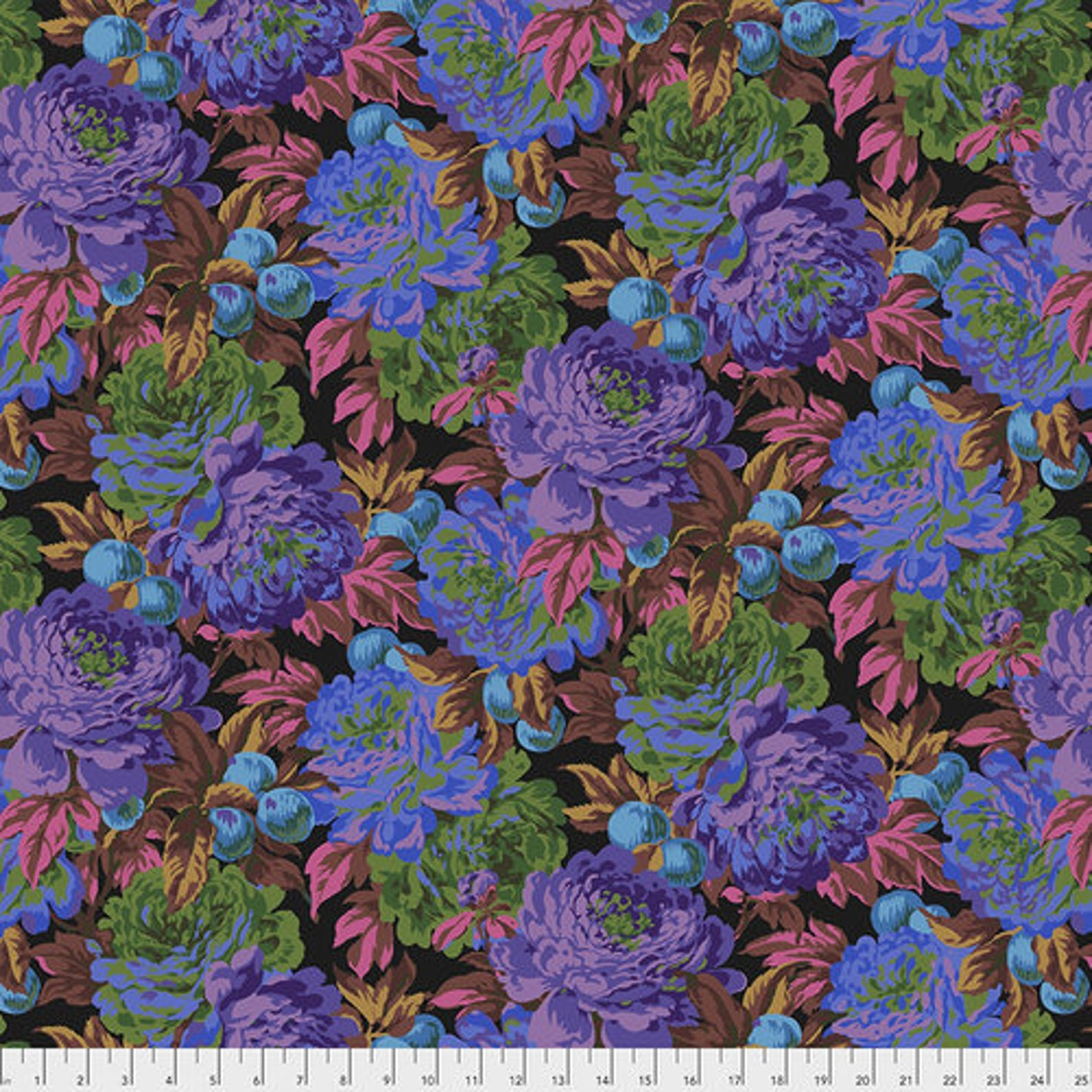 Kaffe Fassett, Lucious in black