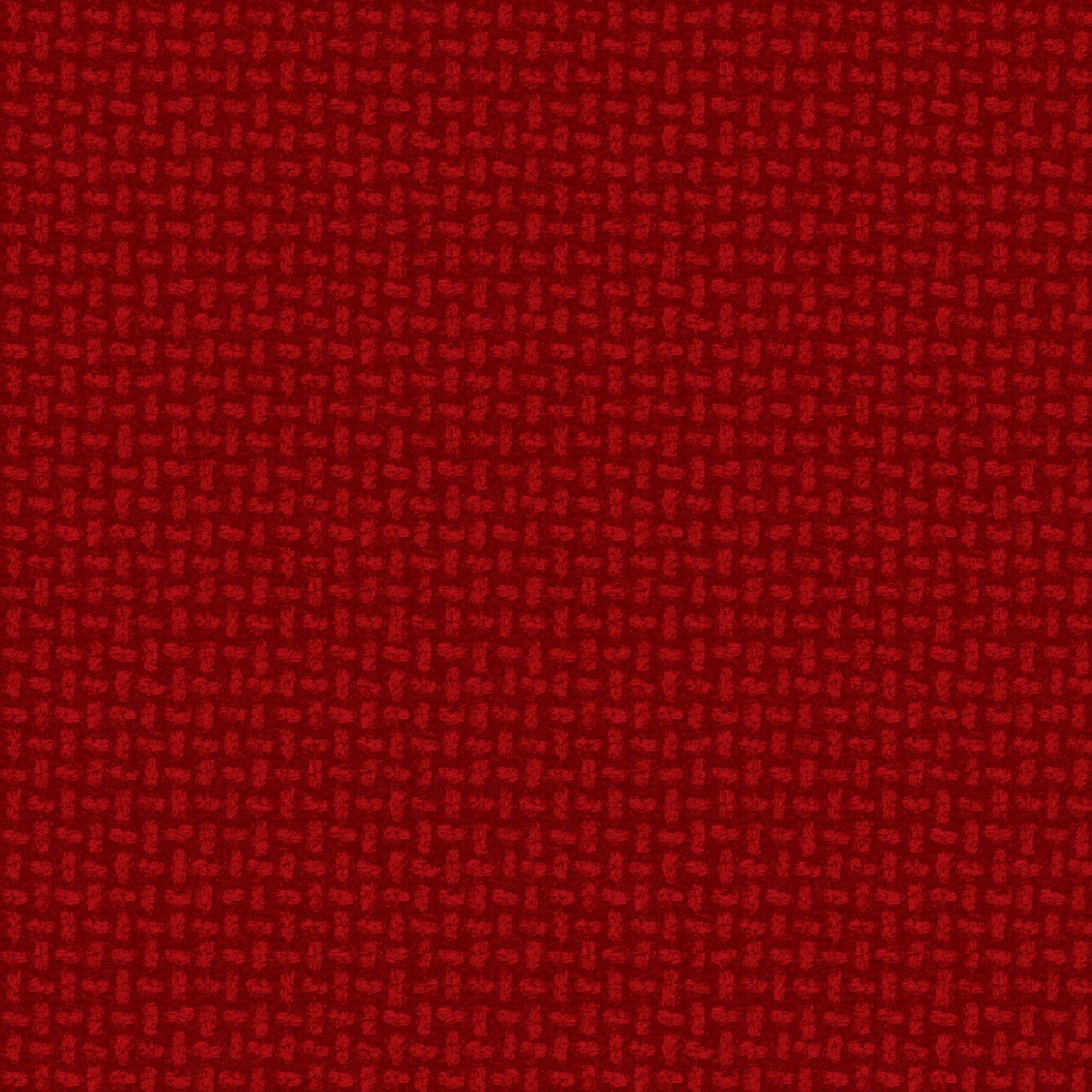 Maywood Studio Woolies Flannel Dark Red Basket Weave