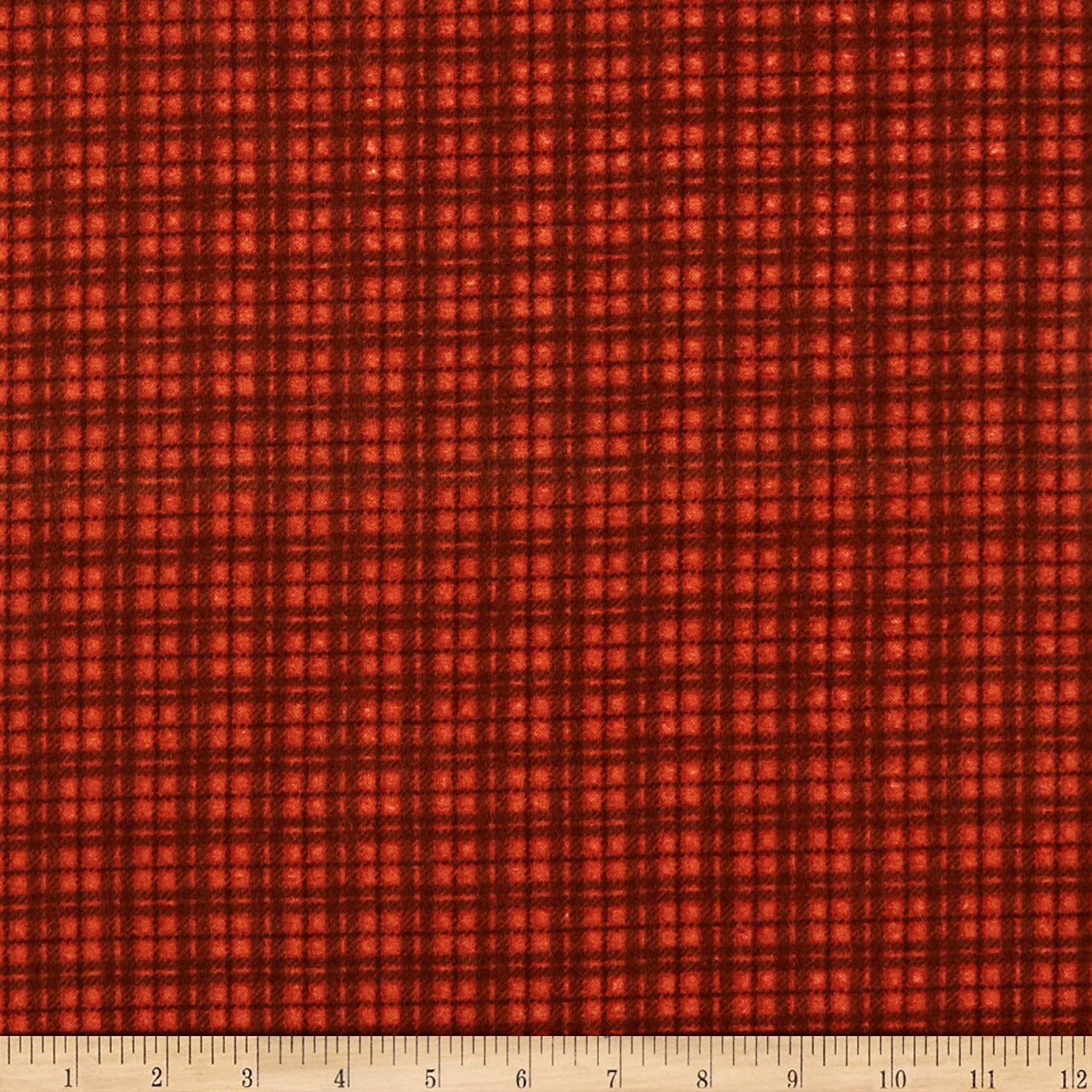 Maywood Studio Woolies Flannel Red Plaid