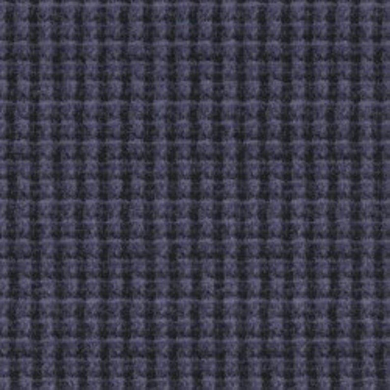 Maywood Studio Woolies Flannel Violet Black Houndstooth