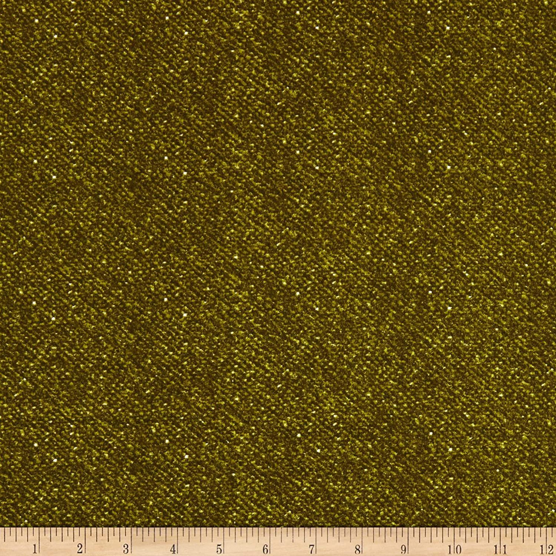 Maywood Studio Woolies Flannel Green Nubby Tweed
