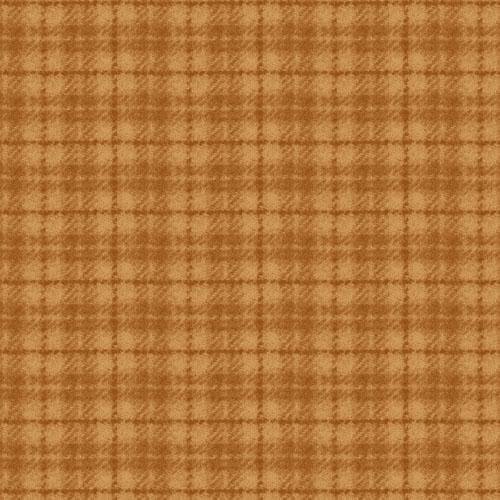 Maywood Studio Woolies Flannel Tan Plaid