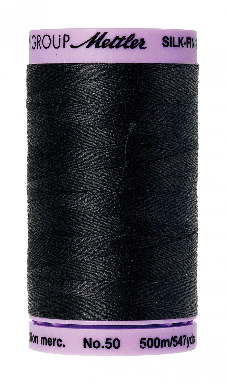 Mettler Silk Finish Cotton Thread Black
