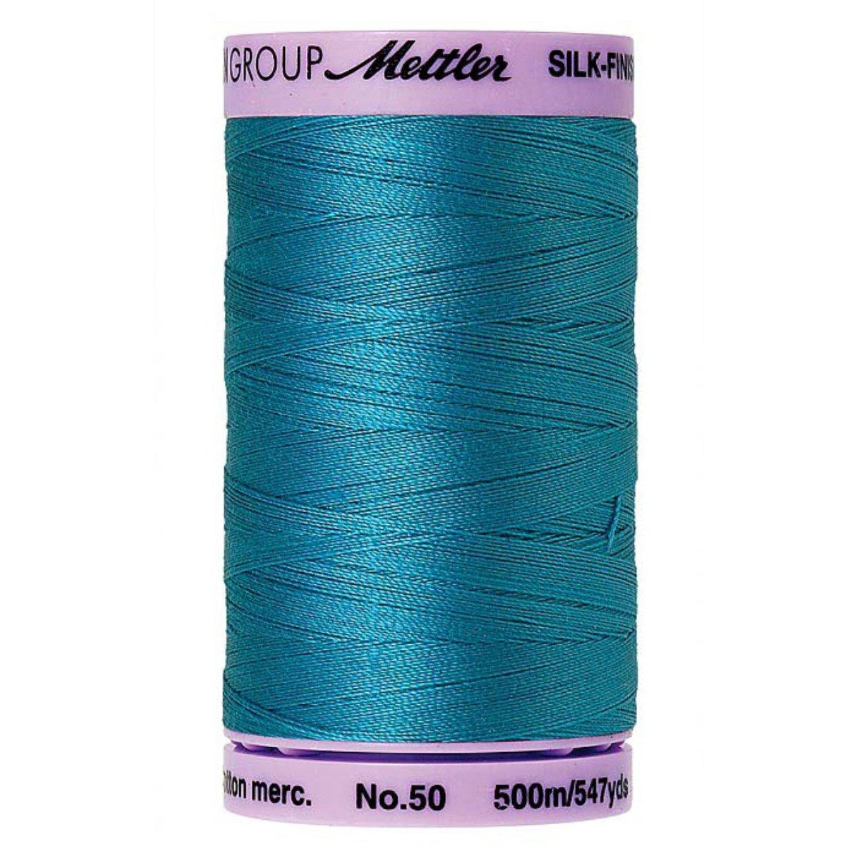 Mettler Silk Finish Cotton Thread Caribbean Blue