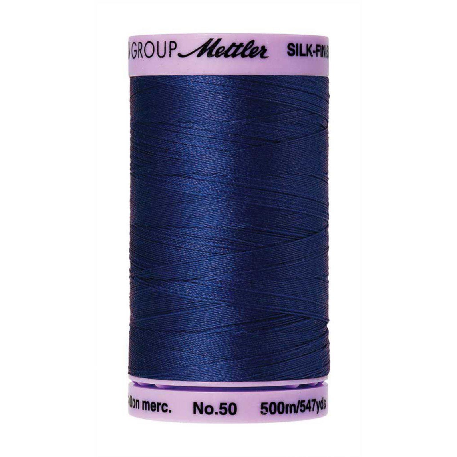 Mettler Silk Finish Cotton Thread Royal Blue