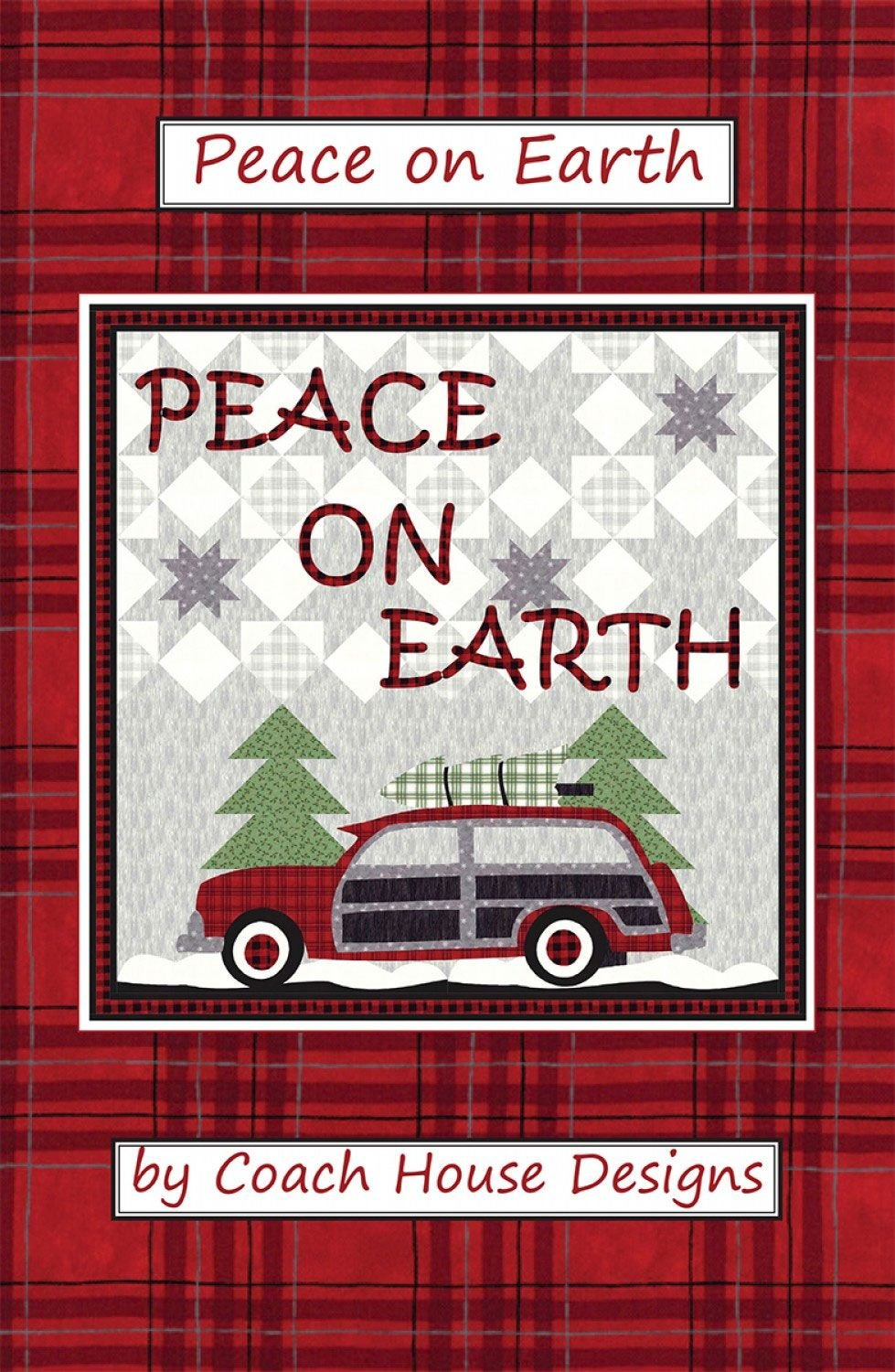 Peace on Earth Square Quilt