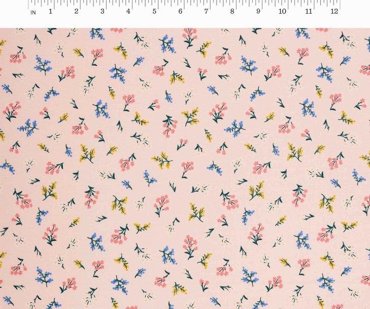 Cotton + Steel, Strawberry Fields - Petites Fleurs Blush