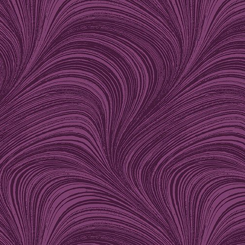 Benartex, WAVE TEXTURE, Plum