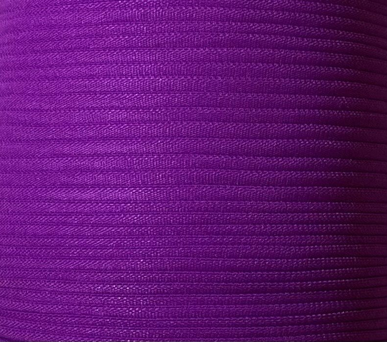 1/6 inch Banded Tube Elastic DARK PURPLE - 10 yards