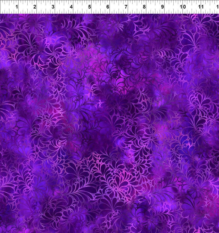 In the Beginning, Rainbow of Jewels - Purple Flourish