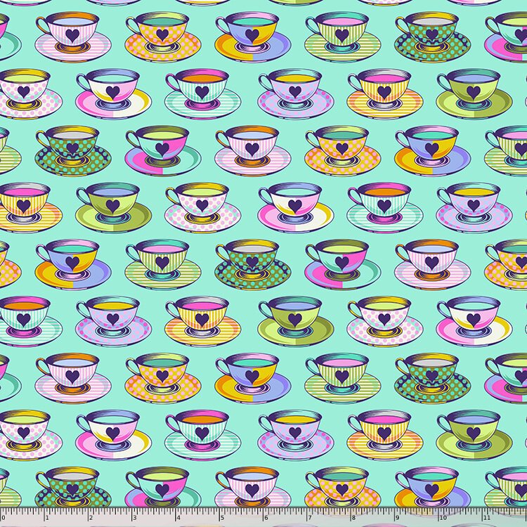 Tula Pink, Curiouser and Curiouser,  Tea Time - Daydream