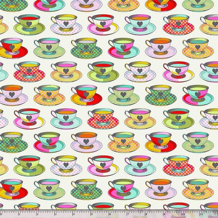 Tula Pink, Curiouser and Curiouser,  Tea Time - Sugar