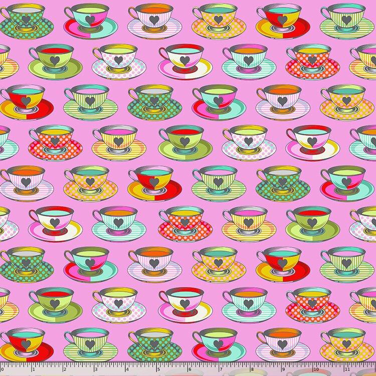 Tula Pink, Curiouser and Curiouser,  Tea Time - Wonder