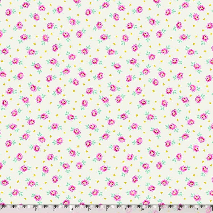 Tula Pink, Curiouser and Curiouser,  Baby Buds - Sugar