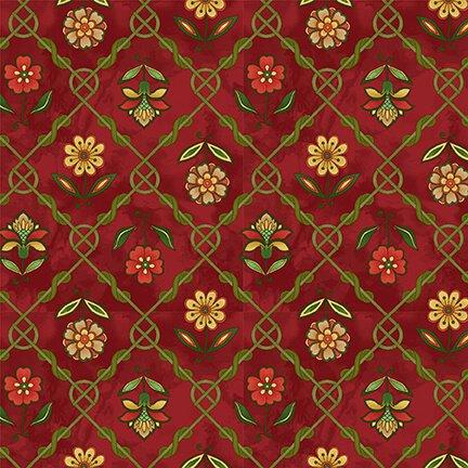 Henry Glass, Jacobean Joyeux - Red Lattice