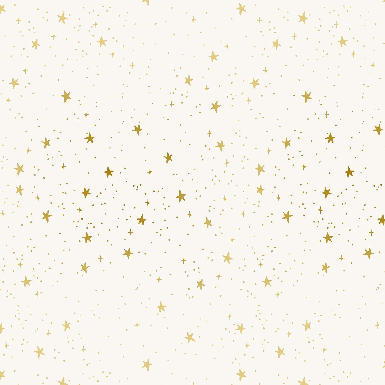 Cotton + Steel, by Rifle Paper - Primavera Stars Cream