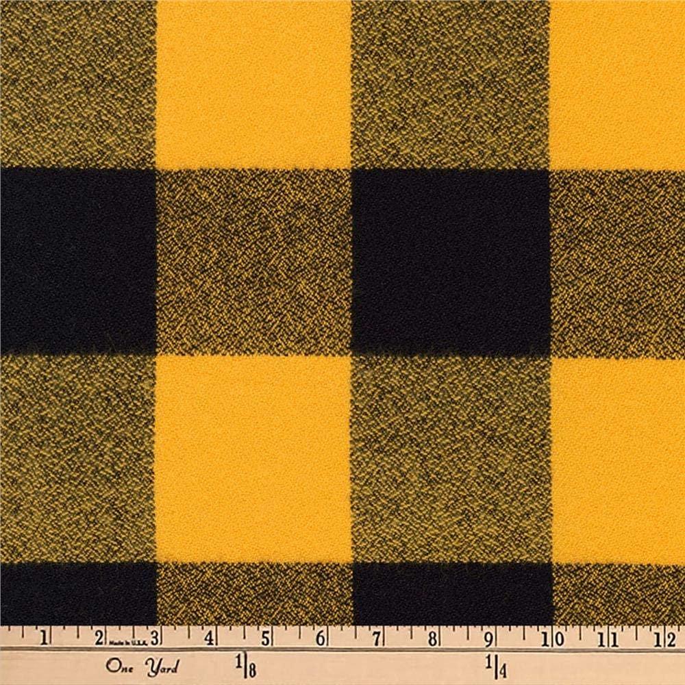 Robert Kaufman Mammoth Flannel Yellow