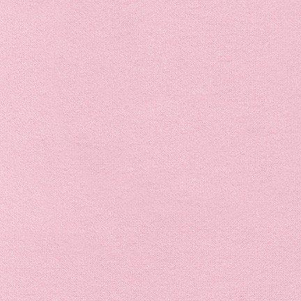 Robert Kaufman Flannel Solid Pink