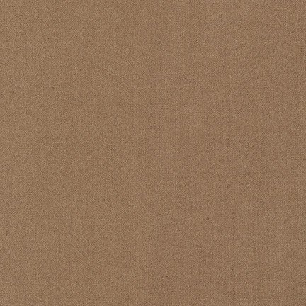 Robert Kaufman Flannel Solid Bison