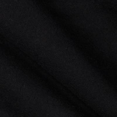 Robert Kaufman Flannel Solid Black