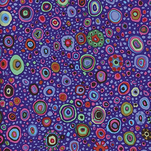 Kaffe Fassett , Roman Glass Circles - Purple