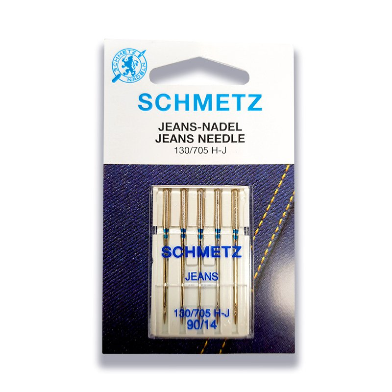 Schmetz Jeans Needle 90/14 - 5 per package