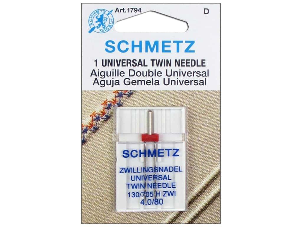 Schmetz Twin Needle 80/2mm - 1 per package