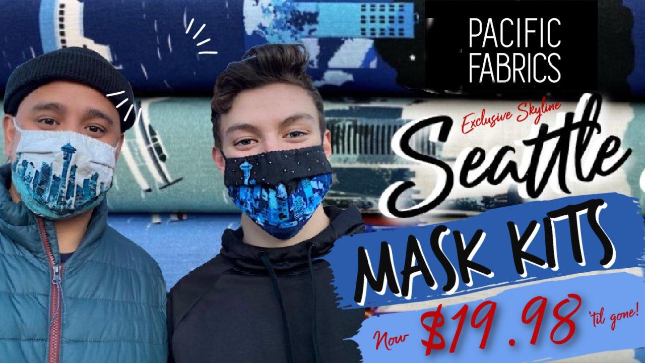 PacFab Exclusive Mask Kit, SKYLINE