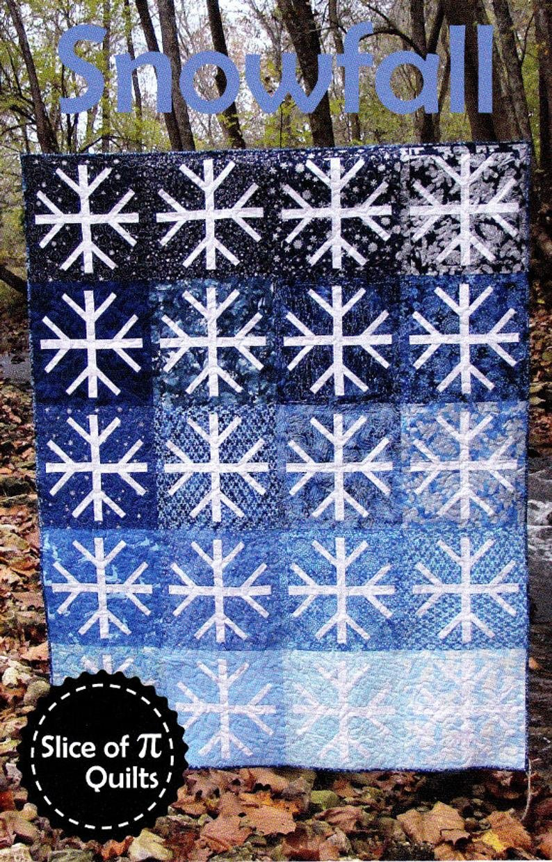 Snowfall Quilt Pattern by Slice of Pi Quilts