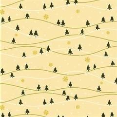 Andover, Metallic Mistletoe - Snowy Hills Eggnog