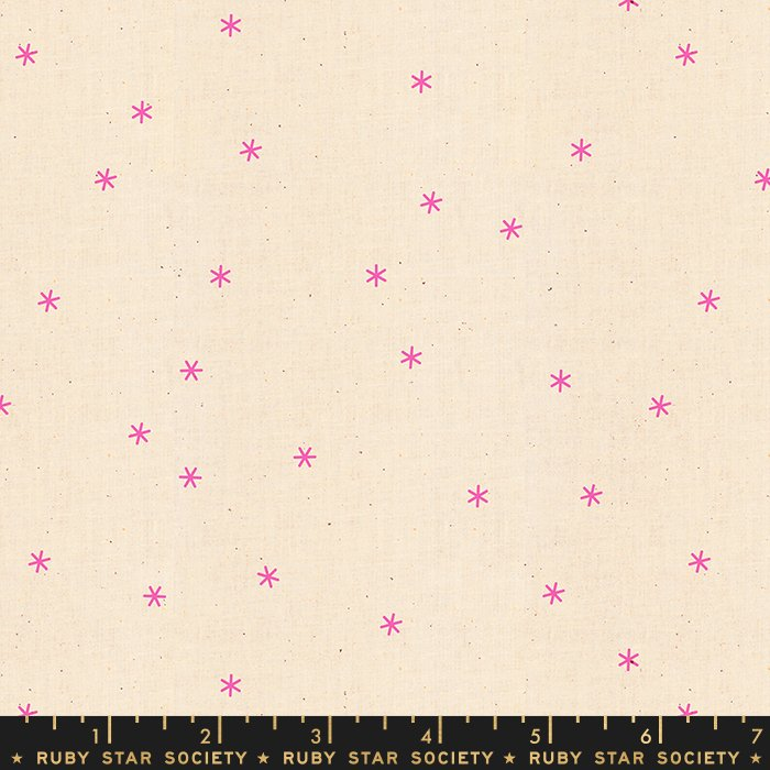 Ruby Star for Moda - Spark Neon Pink