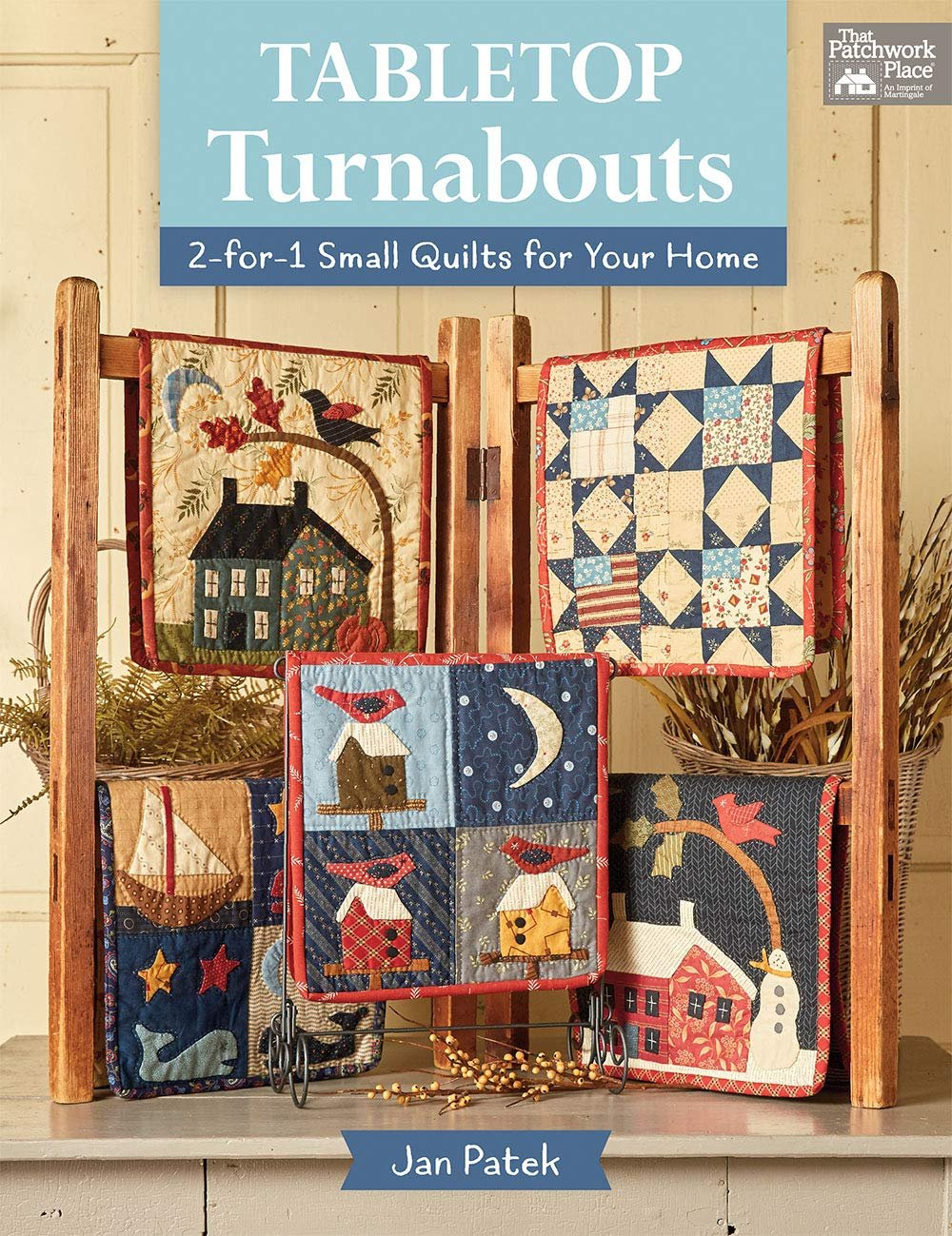 Tabletop Turnabouts Pattern Book