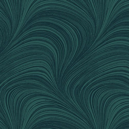 Benartex, WAVE TEXTURE, Teal