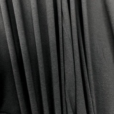 Telio Organic Spandex Knit - Black