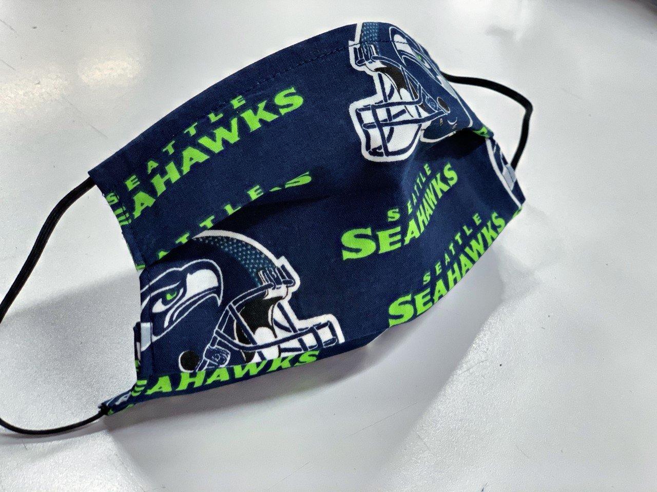 Sports Fan Mask Kit, SEAHAWKS!