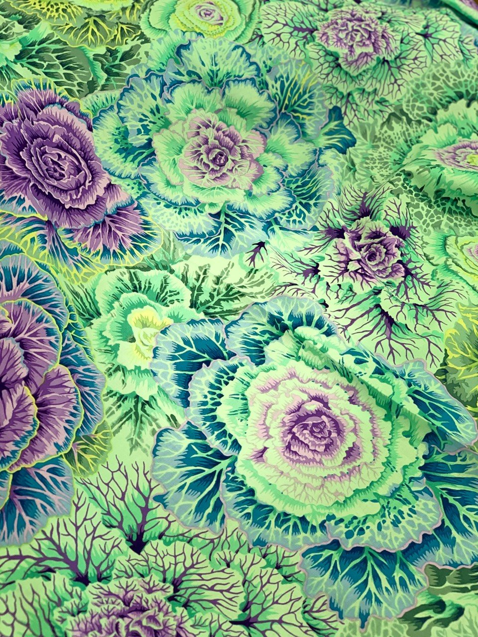 Kaffe Fassett, Brassica Green Cabbage