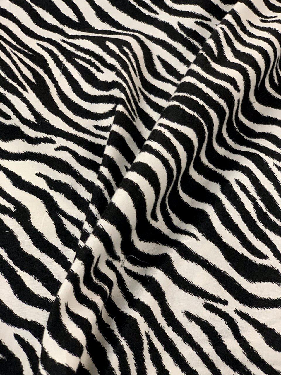 Go Wild, Black Zebra By Windham Fabrics
