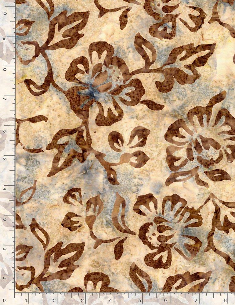 Timeless Treasures, Tonga Ibiza Batik - Hibiscus Flowers Explore